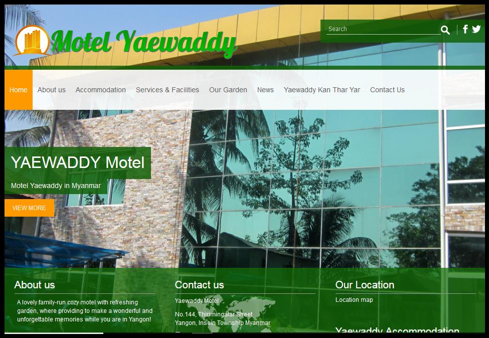 Motel Yaewaddy 1
