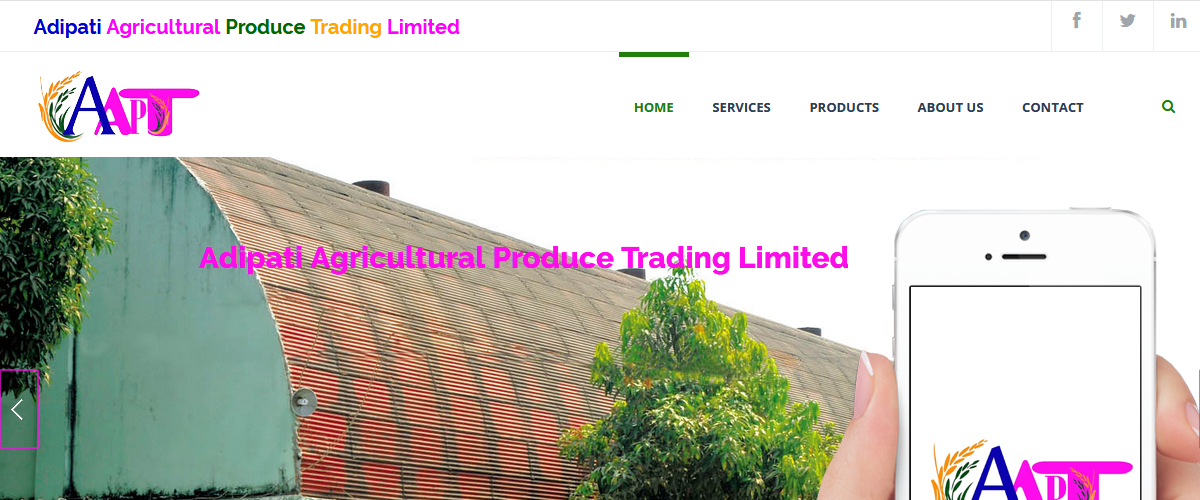 Adipati Agricultural Produce Trading Limited 20